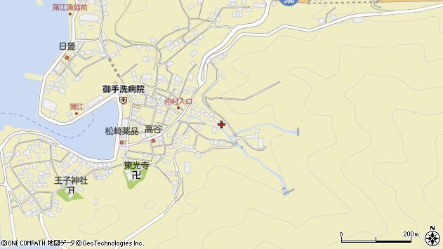 大分県佐伯市蒲江大字蒲江浦2278周辺の地図