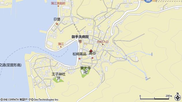 大分県佐伯市蒲江大字蒲江浦2205周辺の地図