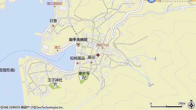 大分県佐伯市蒲江大字蒲江浦2244周辺の地図