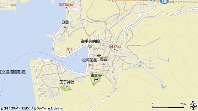 大分県佐伯市蒲江大字蒲江浦2201周辺の地図