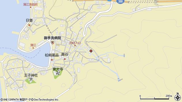 大分県佐伯市蒲江大字蒲江浦2274周辺の地図