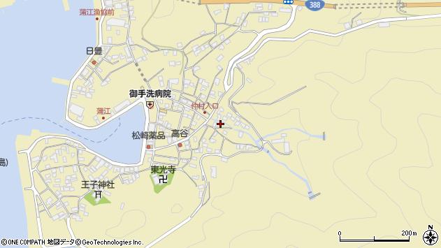 大分県佐伯市蒲江大字蒲江浦2342周辺の地図