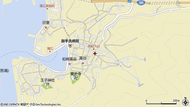 大分県佐伯市蒲江大字蒲江浦2374周辺の地図