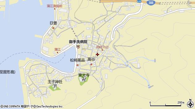 大分県佐伯市蒲江大字蒲江浦2249周辺の地図