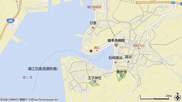 大分県佐伯市蒲江大字蒲江浦3277周辺の地図
