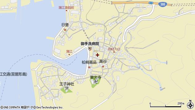 大分県佐伯市蒲江大字蒲江浦2197周辺の地図