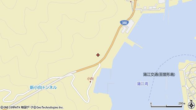 大分県佐伯市蒲江大字蒲江浦4517周辺の地図