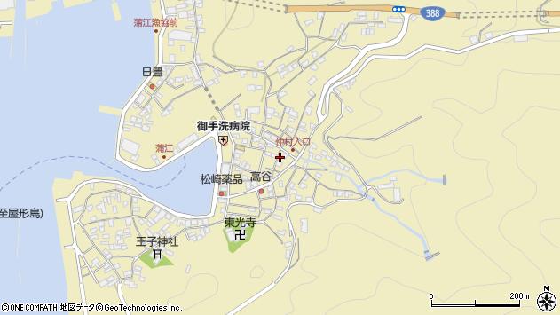 大分県佐伯市蒲江大字蒲江浦2250周辺の地図