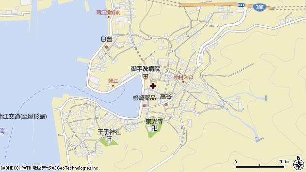 大分県佐伯市蒲江大字蒲江浦2195周辺の地図