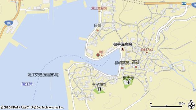 大分県佐伯市蒲江大字蒲江浦3278周辺の地図
