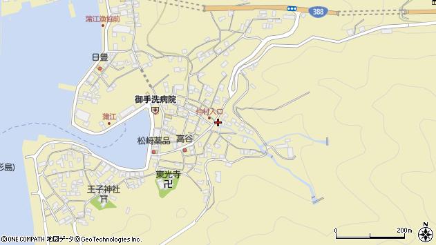 大分県佐伯市蒲江大字蒲江浦2255周辺の地図
