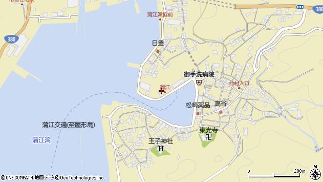 大分県佐伯市蒲江大字蒲江浦3280周辺の地図