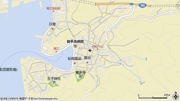大分県佐伯市蒲江大字蒲江浦2232周辺の地図