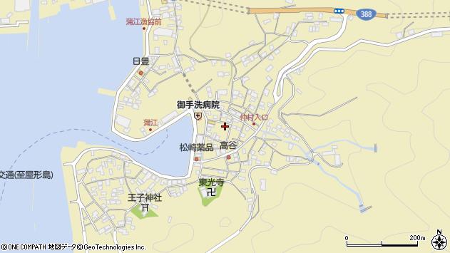 大分県佐伯市蒲江大字蒲江浦2189周辺の地図