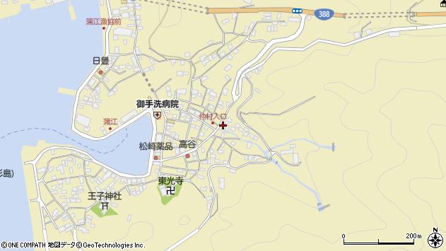 大分県佐伯市蒲江大字蒲江浦2256周辺の地図
