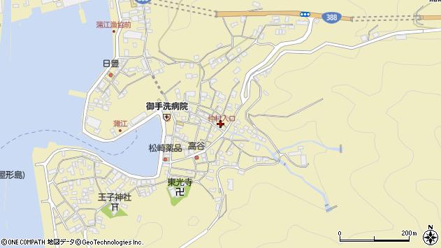 大分県佐伯市蒲江大字蒲江浦2127周辺の地図