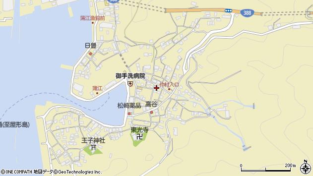 大分県佐伯市蒲江大字蒲江浦2234周辺の地図