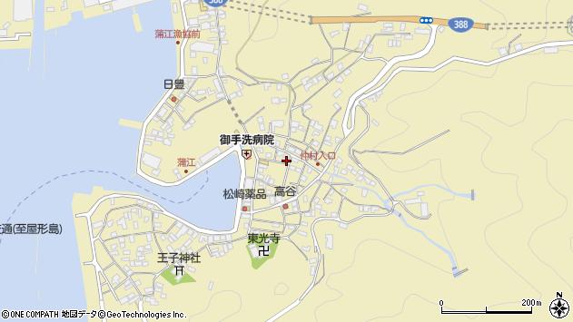 大分県佐伯市蒲江大字蒲江浦2185周辺の地図