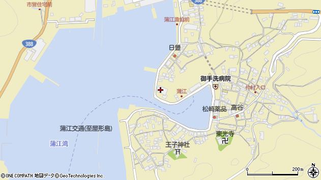 大分県佐伯市蒲江大字蒲江浦3361周辺の地図