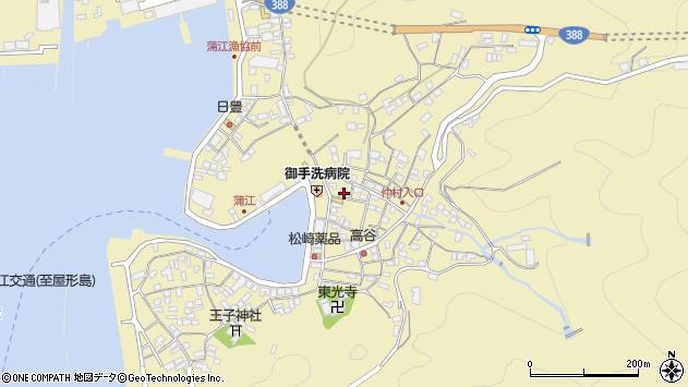 大分県佐伯市蒲江大字蒲江浦2177周辺の地図