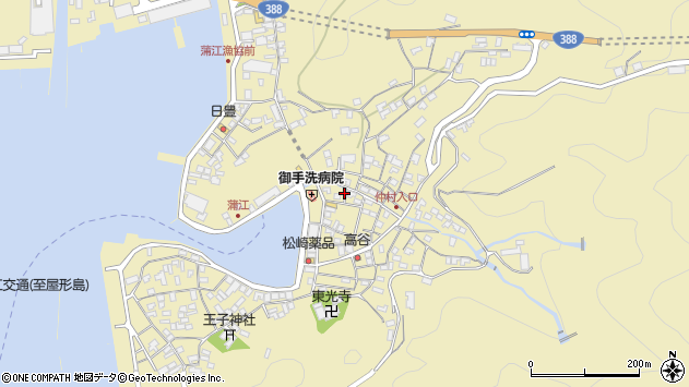 大分県佐伯市蒲江大字蒲江浦2180周辺の地図
