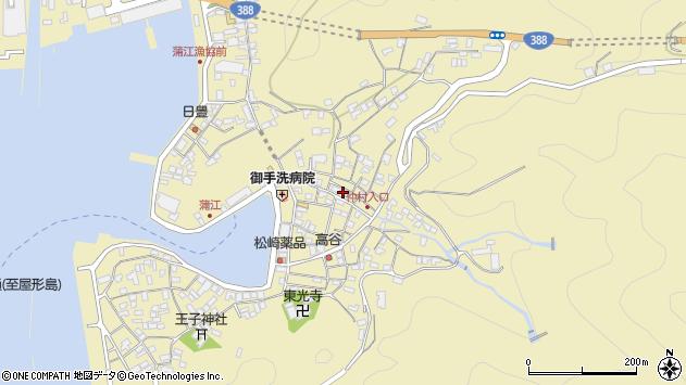 大分県佐伯市蒲江大字蒲江浦2131周辺の地図