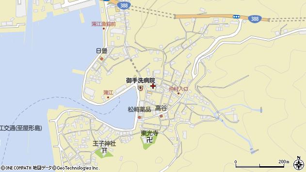 大分県佐伯市蒲江大字蒲江浦2179周辺の地図