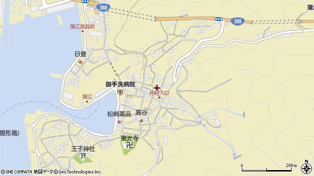 大分県佐伯市蒲江大字蒲江浦2111周辺の地図