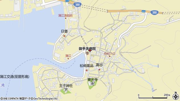 大分県佐伯市蒲江大字蒲江浦2173周辺の地図