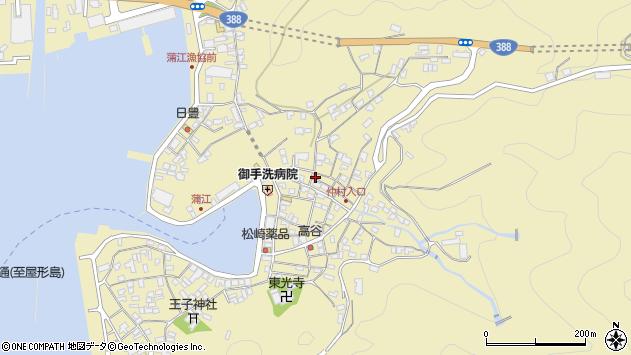大分県佐伯市蒲江大字蒲江浦2108周辺の地図