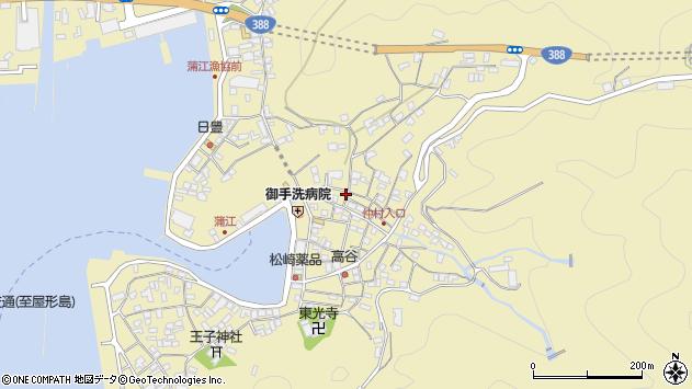 大分県佐伯市蒲江大字蒲江浦2133周辺の地図