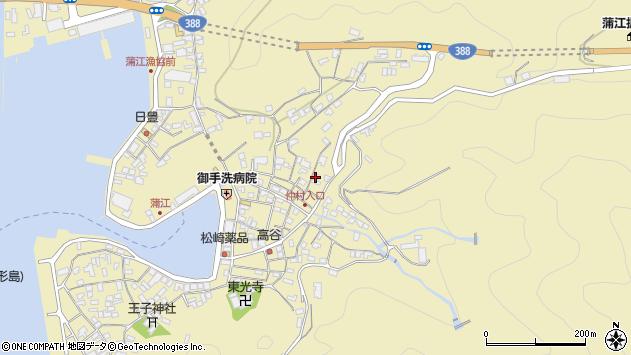 大分県佐伯市蒲江大字蒲江浦2644周辺の地図