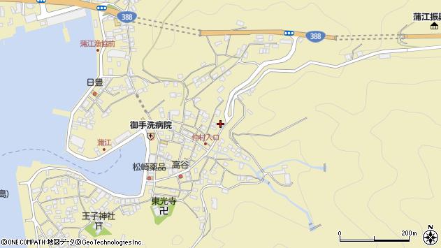 大分県佐伯市蒲江大字蒲江浦2097周辺の地図