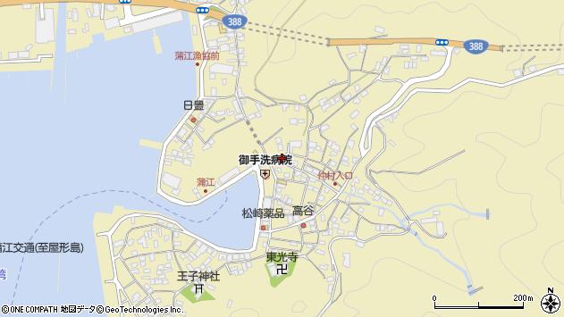 大分県佐伯市蒲江大字蒲江浦2139周辺の地図