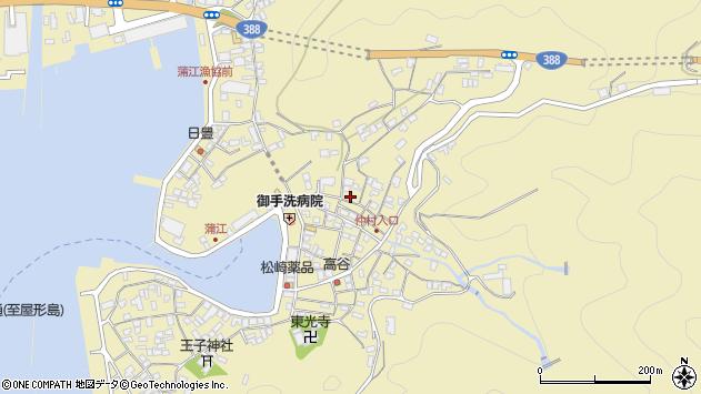 大分県佐伯市蒲江大字蒲江浦2107周辺の地図