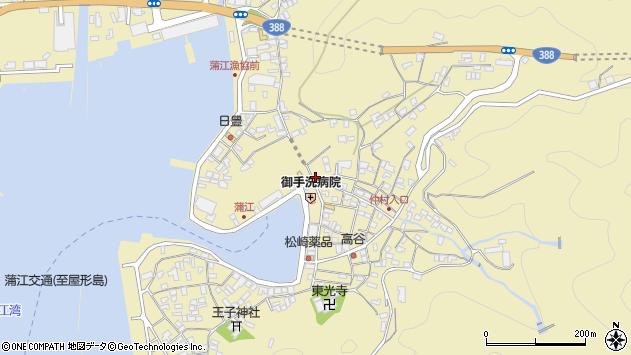 大分県佐伯市蒲江大字蒲江浦2171周辺の地図