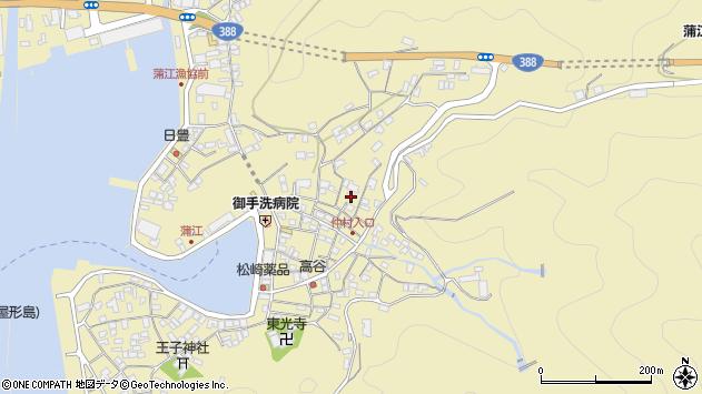 大分県佐伯市蒲江大字蒲江浦2083周辺の地図