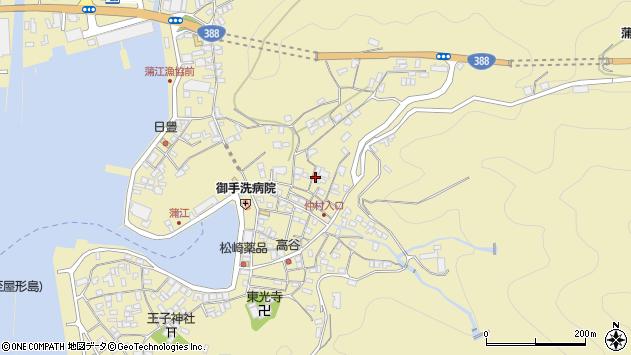 大分県佐伯市蒲江大字蒲江浦2084周辺の地図