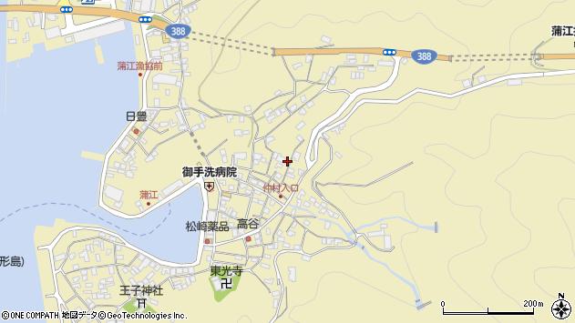 大分県佐伯市蒲江大字蒲江浦2076周辺の地図