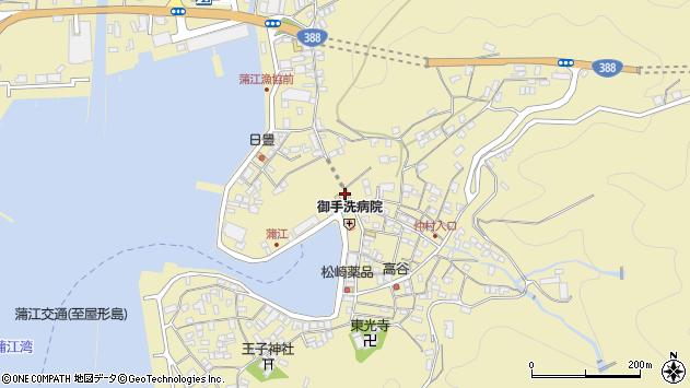 大分県佐伯市蒲江大字蒲江浦2164周辺の地図