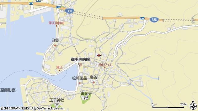 大分県佐伯市蒲江大字蒲江浦2087周辺の地図