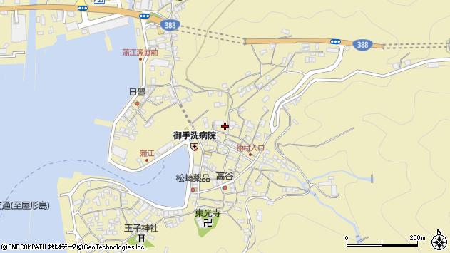 大分県佐伯市蒲江大字蒲江浦2151周辺の地図