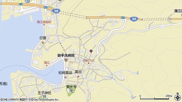 大分県佐伯市蒲江大字蒲江浦2060周辺の地図