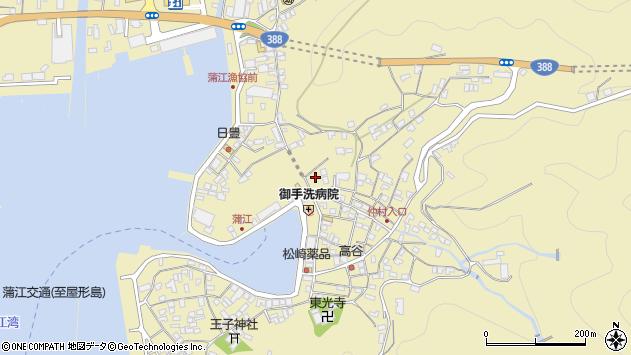 大分県佐伯市蒲江大字蒲江浦2162周辺の地図