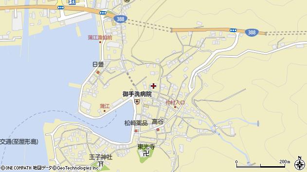 大分県佐伯市蒲江大字蒲江浦2153周辺の地図