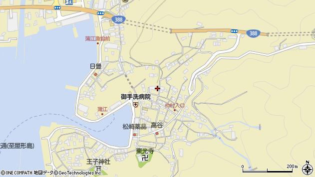 大分県佐伯市蒲江大字蒲江浦2152周辺の地図