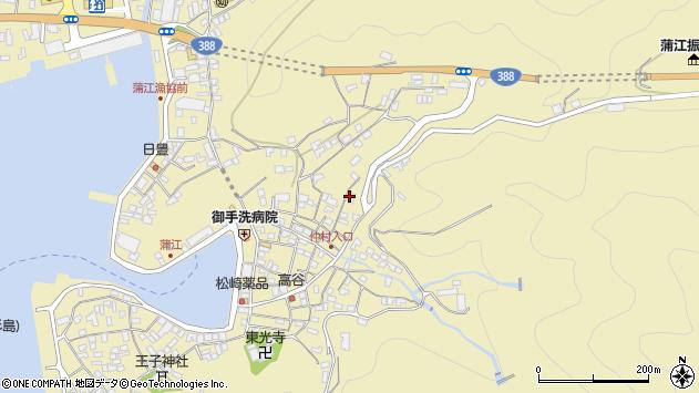 大分県佐伯市蒲江大字蒲江浦2061周辺の地図
