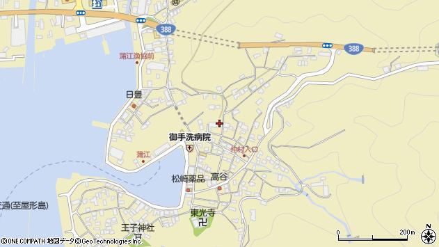 大分県佐伯市蒲江大字蒲江浦2154周辺の地図