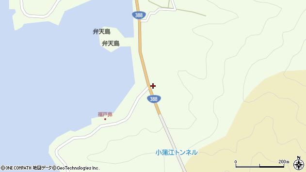 大分県佐伯市蒲江大字猪串浦175周辺の地図