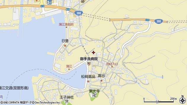 大分県佐伯市蒲江大字蒲江浦2161周辺の地図